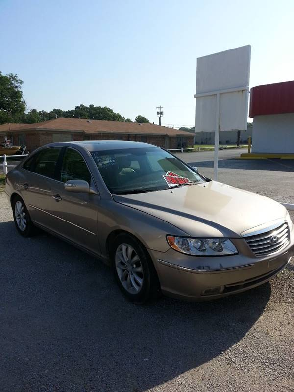 2008 Hyundai Azera Limited 4dr Sedan In WEATHERFORD TX  A