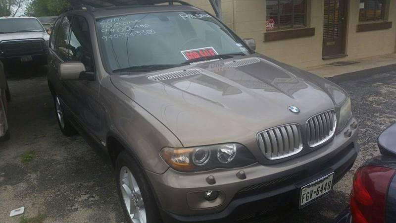 2005 BMW X5 AWD 4.4i 4dr SUV - Weatherford TX
