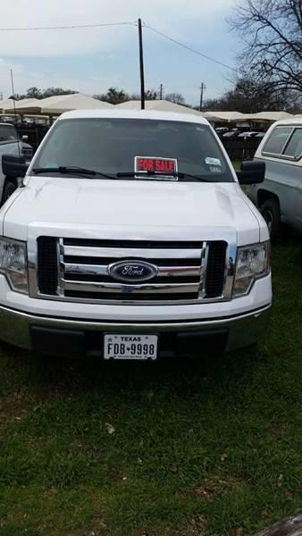 2010 Ford F-150 for sale at A ASSOCIATED VEHICLE SALES in Weatherford TX