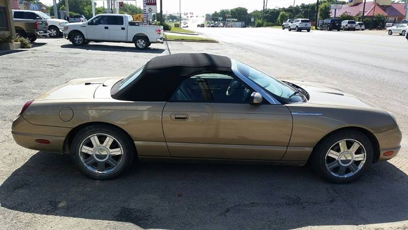 2005 Ford Thunderbird Deluxe 2dr Convertible - Weatherford TX