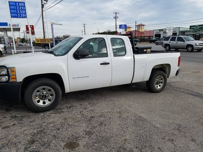 2010 Chevrolet Silverado 1500 4x2 Work Truck 4dr Extended Cab 6.5 ft. SB - Weatherford TX
