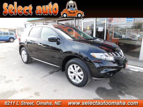 2012 Nissan Murano SL for sale at Select Auto in Omaha NE