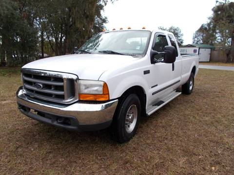 2000 Ford F-250 Super Duty for sale at LANCASTER'S AUTO SALES INC in Fruitland Park FL