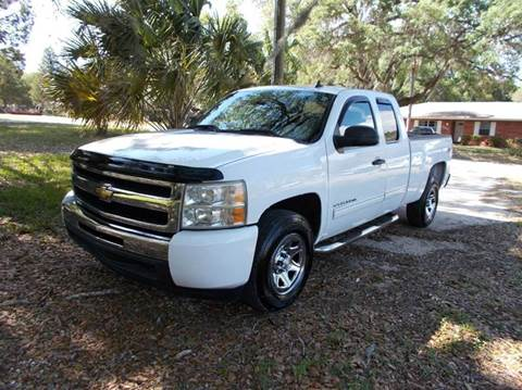 2011 Chevrolet Silverado 1500 for sale at LANCASTER'S AUTO SALES INC in Fruitland Park FL