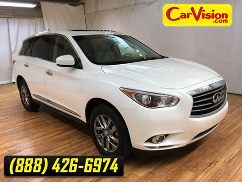 2013 Infiniti JX35 for sale at Car Vision in Norristown PA