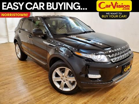 2015 Land Rover Range Rover Evoque for sale in Norristown, PA