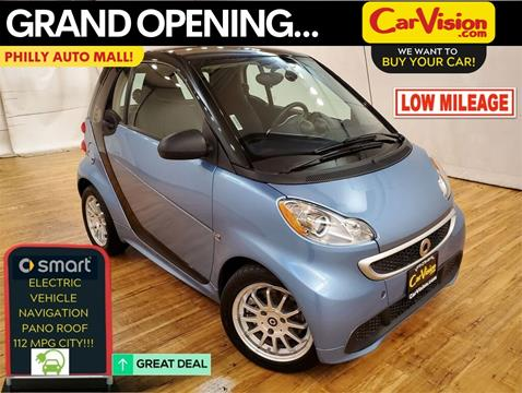2014 Smart fortwo electric drive for sale in Philadelphia, PA