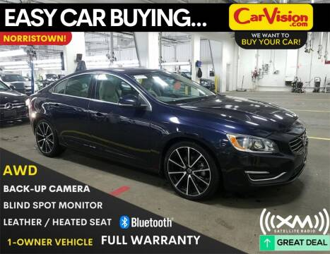 2016 Volvo S60 T5 Drive-E Premier for sale at Car Vision Mitsubishi Norristown in Norristown PA
