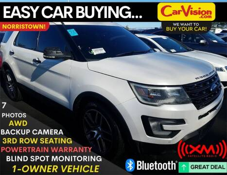 2016 Ford Explorer Sport for sale at Car Vision Mitsubishi Norristown in Norristown PA