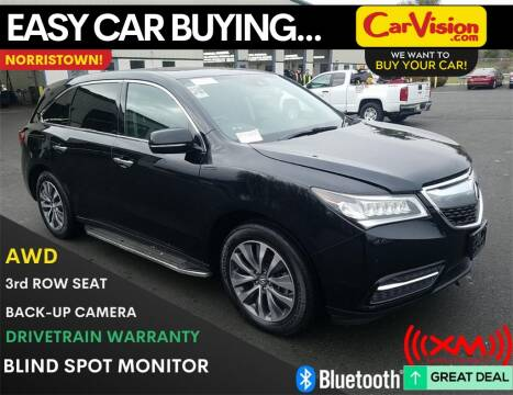 2016 Acura MDX for sale at Car Vision Mitsubishi Norristown in Norristown PA