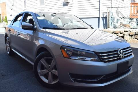 2013 Volkswagen Passat for sale at VNC Inc in Paterson NJ