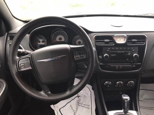 2012 Chrysler 200 LX 4dr Sedan In Hudson NY  Hall Motors LLC