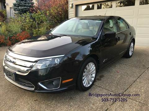 2011 Ford Fusion Hybrid for sale at Bridgeport Auto Group in Portland OR