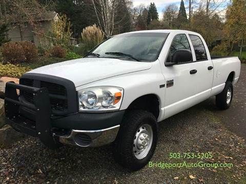 2007 Dodge Ram Pickup 2500 for sale at Bridgeport Auto Group in Portland OR