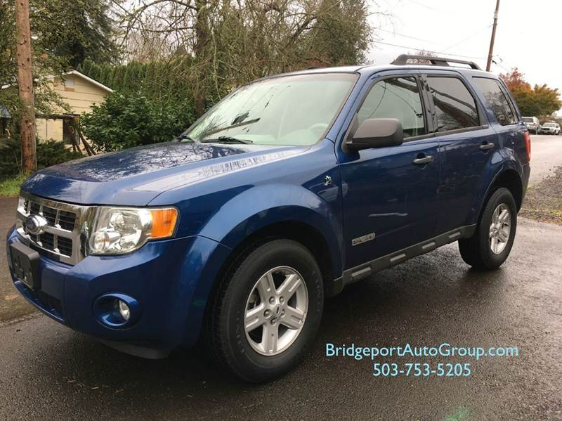 2008 Ford Escape Hybrid for sale at Bridgeport Auto Group in Portland OR