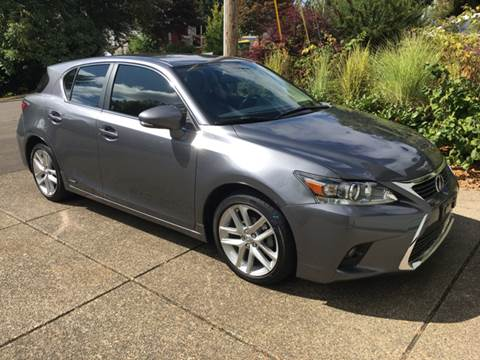 2016 Lexus CT 200h for sale at Bridgeport Auto Group in Portland OR