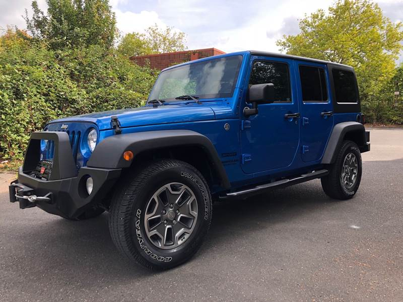 2016 Jeep Wrangler Unlimited 4x4 Sport 4dr Suv In Portland