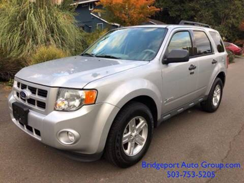 Used Cars For Sale Portland Oregon >> 2012 Ford Escape Hybrid For Sale In Portland Or
