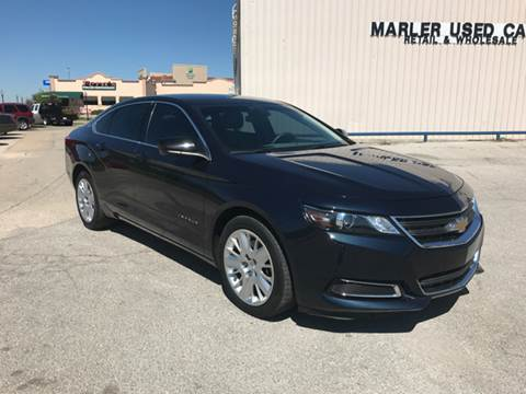 2015 Chevrolet Impala for sale at MARLER USED CARS in Gainesville TX