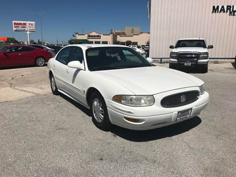 2003 Buick LeSabre for sale at MARLER USED CARS in Gainesville TX