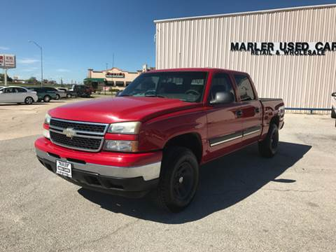 2007 Chevrolet Silverado 1500 Classic for sale at MARLER USED CARS in Gainesville TX