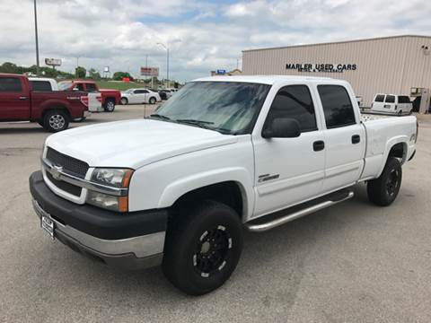 2004 Chevrolet Silverado 2500HD for sale at MARLER USED CARS in Gainesville TX