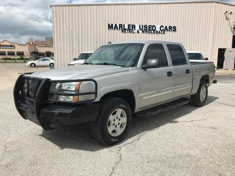 2005 Chevrolet Silverado 1500 for sale at MARLER USED CARS in Gainesville TX