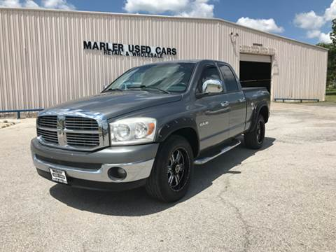2008 Dodge Ram Pickup 1500 for sale at MARLER USED CARS in Gainesville TX