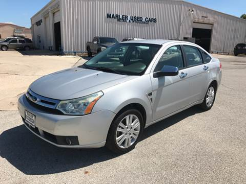 2009 Ford Focus for sale at MARLER USED CARS in Gainesville TX