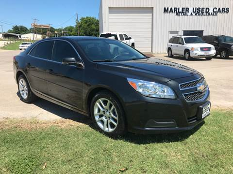 2013 Chevrolet Malibu for sale at MARLER USED CARS in Gainesville TX