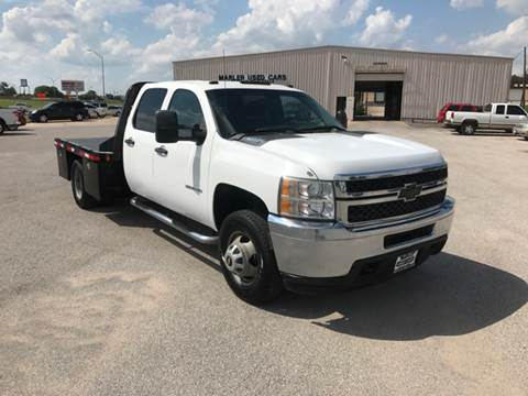 2011 Chevrolet Silverado 3500HD for sale at MARLER USED CARS in Gainesville TX