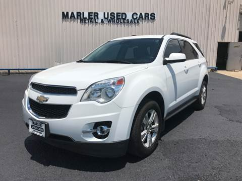 2013 Chevrolet Equinox for sale at MARLER USED CARS in Gainesville TX