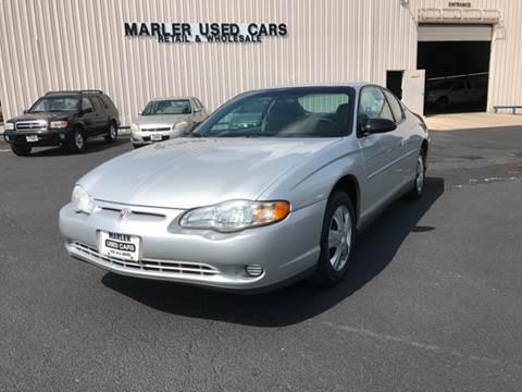 2001 Chevrolet Monte Carlo for sale in Gainesville, TX