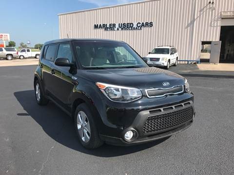 2015 Kia Soul for sale at MARLER USED CARS in Gainesville TX