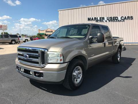 2005 Ford F-250 Super Duty for sale at MARLER USED CARS in Gainesville TX