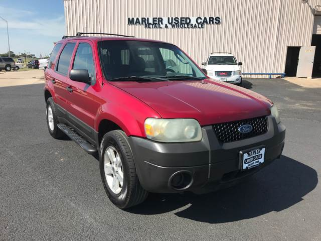 Ford Escape XLT In Gainesville TX MARLER USED CARS - 2006 escape