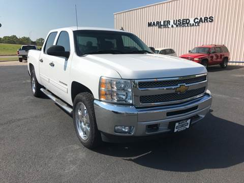 2012 Chevrolet Silverado 1500 for sale at MARLER USED CARS in Gainesville TX