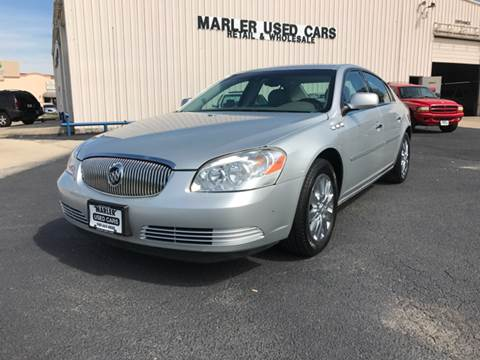 2009 Buick Lucerne for sale at MARLER USED CARS in Gainesville TX