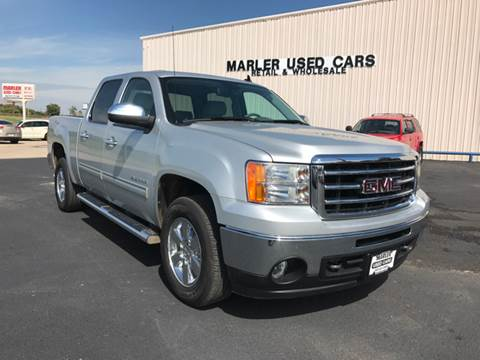 2012 GMC Sierra 1500 for sale at MARLER USED CARS in Gainesville TX