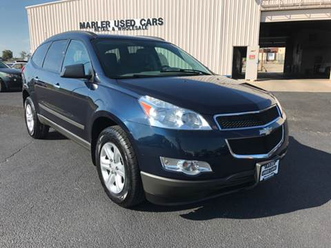 2012 Chevrolet Traverse for sale at MARLER USED CARS in Gainesville TX