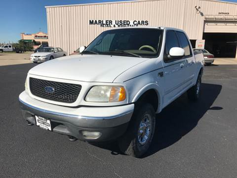2001 Ford F-150 for sale in Gainesville, TX