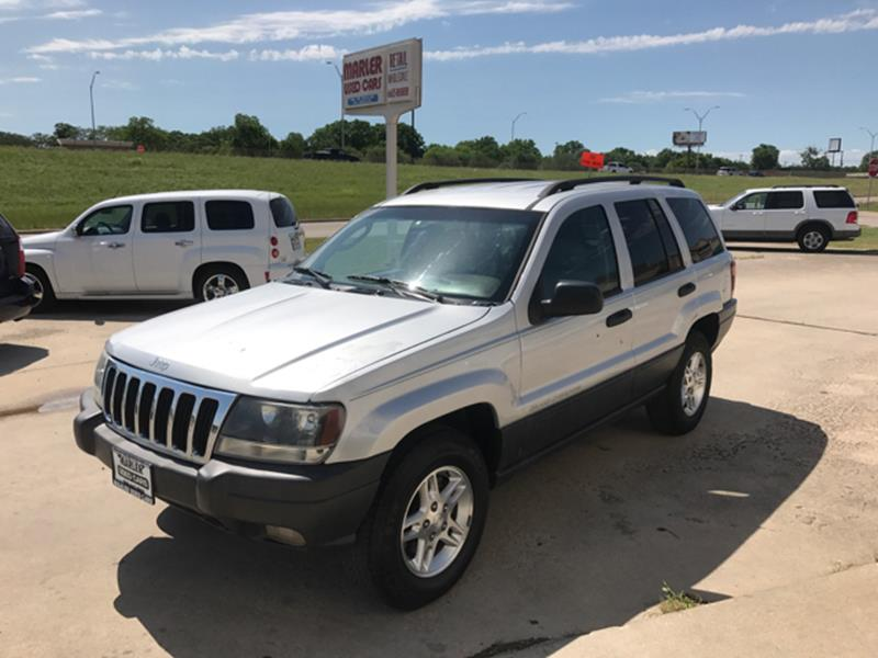 2003 Jeep Grand Cherokee For Sale At MARLER USED CARS In Gainesville TX