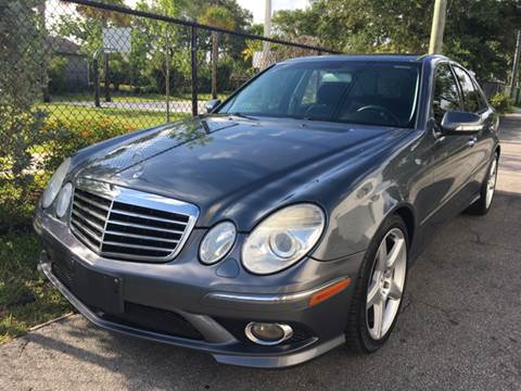 2009 Mercedes Benz E Class For Sale In Hollywood, FL