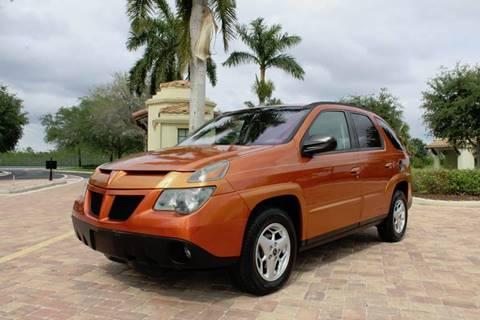 2005 Pontiac Aztek for sale in Royal Palm Beach, FL