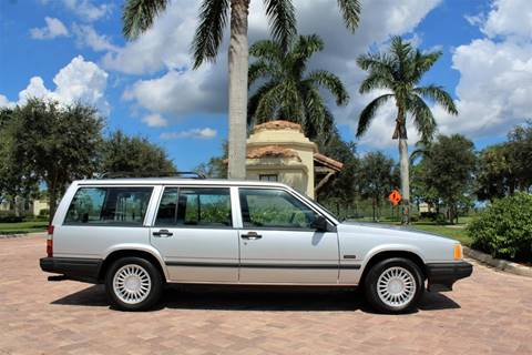 1993 Volvo 940 for sale at LIBERTY MOTORCARS INC in Royal Palm Beach FL