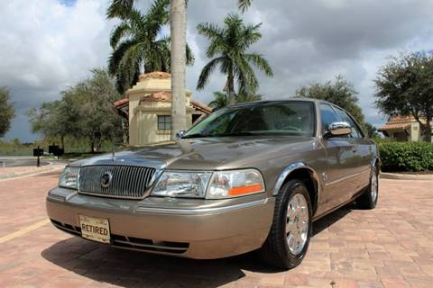 2005 Mercury Grand Marquis for sale at LIBERTY MOTORCARS INC in Royal Palm Beach FL