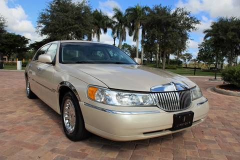 1999 Lincoln Town Car For Sale In Silver City Nm Carsforsale Com