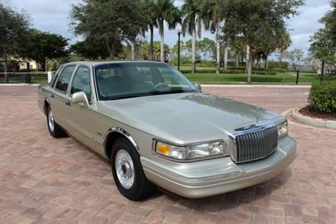 Lincoln Town Car For Sale In Royal Palm Beach Fl Liberty Motorcars Inc