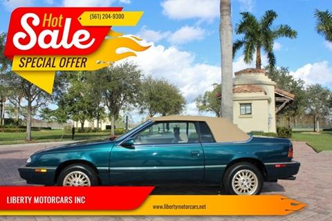 1995 Chrysler Le Baron for sale in Royal Palm Beach, FL