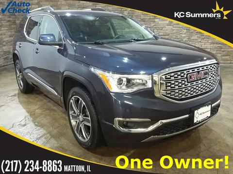 2019 GMC Acadia for sale in Mattoon, IL